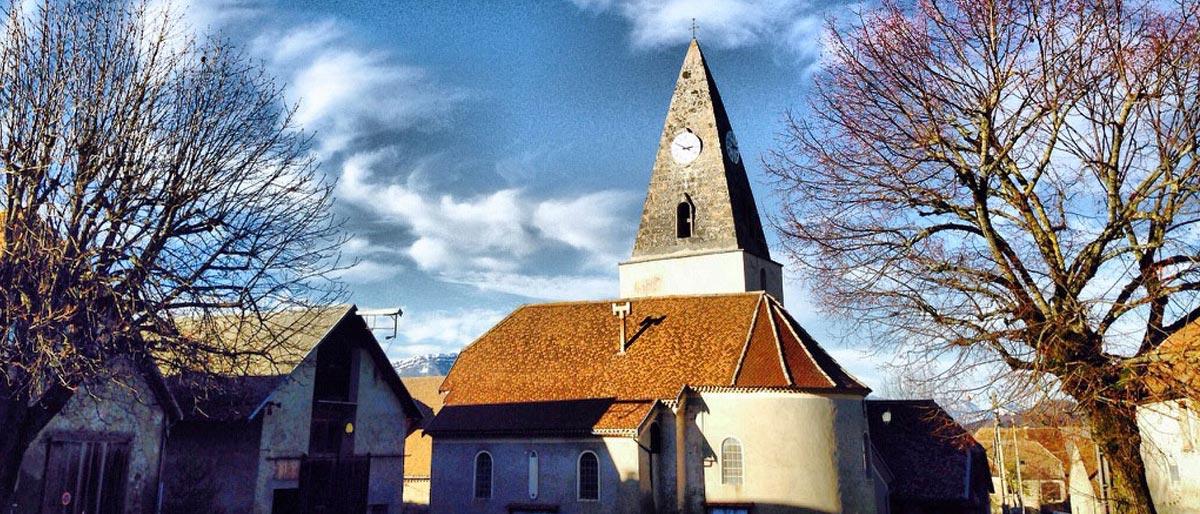 Place et église de Prébois